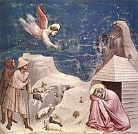 The Dream of Joachim, c.1305, giotto