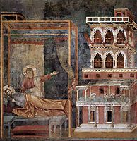 Dream of the Palace, giotto