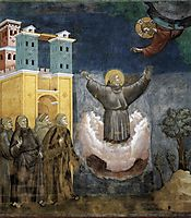 Ecstasy of St. Francis, 1300, giotto