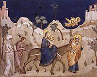 Flight into Egypt, c.1320, giotto
