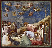 Lamentation (The Mourning of Christ), c.1306, giotto