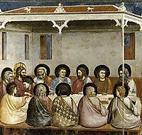 Last Supper, c.1306, giotto