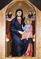 Madonna and Child, c.1300, giotto