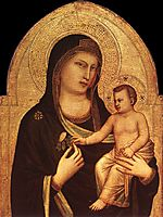 Madonna and Child, c.1330, giotto