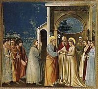 The Marriage of the Virgin , c.1305, giotto
