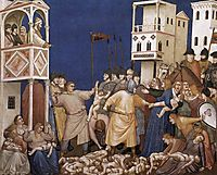The Massacre of the Innocents, c.1320, giotto
