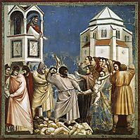 The Massacre of the Innocents, c.1305, giotto