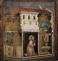 Miracle of the Crucifix, 1299, giotto