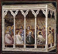 Pentecost, c.1306, giotto