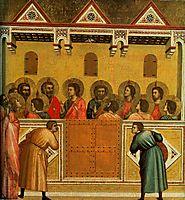 Pentecost, c.1310, giotto