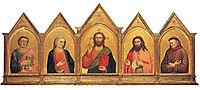 Peruzzi Altarpiece, c.1315, giotto