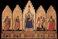 Polyptych, c.1335, giotto