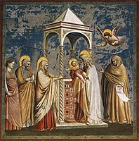 Presentation of Christ at the Temple, c.1306, giotto