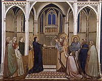 Presentation of Christ in the Temple, c.1320, giotto