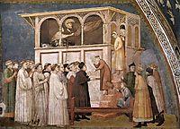 Raising of the Boy in Sessa, c.1320, giotto