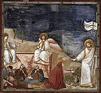 Resurrection (Noli me tangere), c.1306, giotto