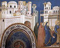 Return of Christ to Jerusalem, c.1320, giotto