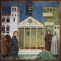 St. Francis Honoured by a Simple Man, 1300, giotto