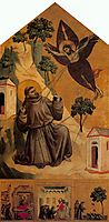 St. Francis Receiving the Stigmata, c.1300, giotto
