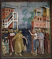 St. Francis Renounces all Worldly Goods, 1299, giotto
