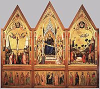 The Stefaneschi Triptych, c.1330, giotto