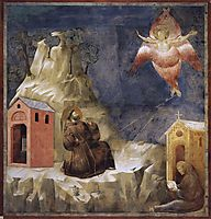 Stigmatization of St. Francis, 1300, giotto