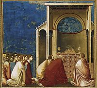 The Suitors Praying, c.1306, giotto