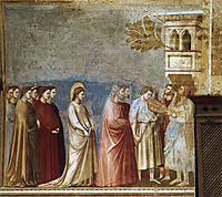 The Virgin-s Wedding Procession, 1305, giotto