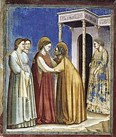 Visitation, 1306, giotto