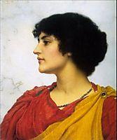 An Italian Girls Head, godward