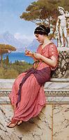 Le Billet Doux or The Love Letter, 1913, godward