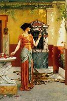 The Bouquet, 1899, godward