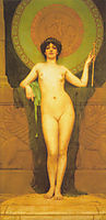 Campaspe, 1896, godward