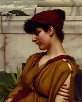 A Classical Beauty In Profile, godward
