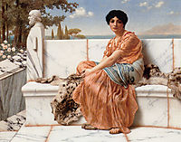 In the Days of Sappho, 1904, godward