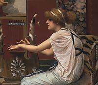 Erato at Her Lyre, godward