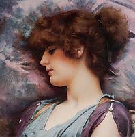 Far Away Thoughts, 1892, godward