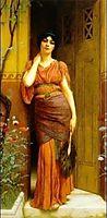 At the Garden Door, 1901, godward