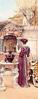 At the Garden Shrine, Pompeii, godward
