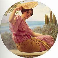 Golden Hours, 1913, godward