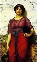 Grecian Idyll, 1907, godward