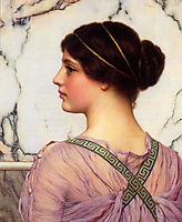 A Grecian Lovely, 1909, godward