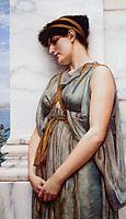 Grecian Reverie, Dream, 1889, godward