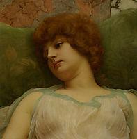 Idle Moments, 1895, godward