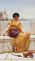 Idleness, 1900, godward