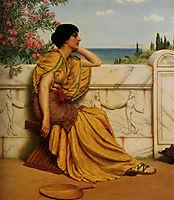 Leisure Hours, 1905, godward