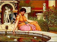 A Lily Pond, 1917, godward