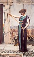 A Pompeian Lady, 1891, godward