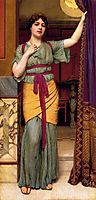 A Pompeian Lady, 1895, godward
