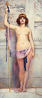 A Priestess, 1893, godward